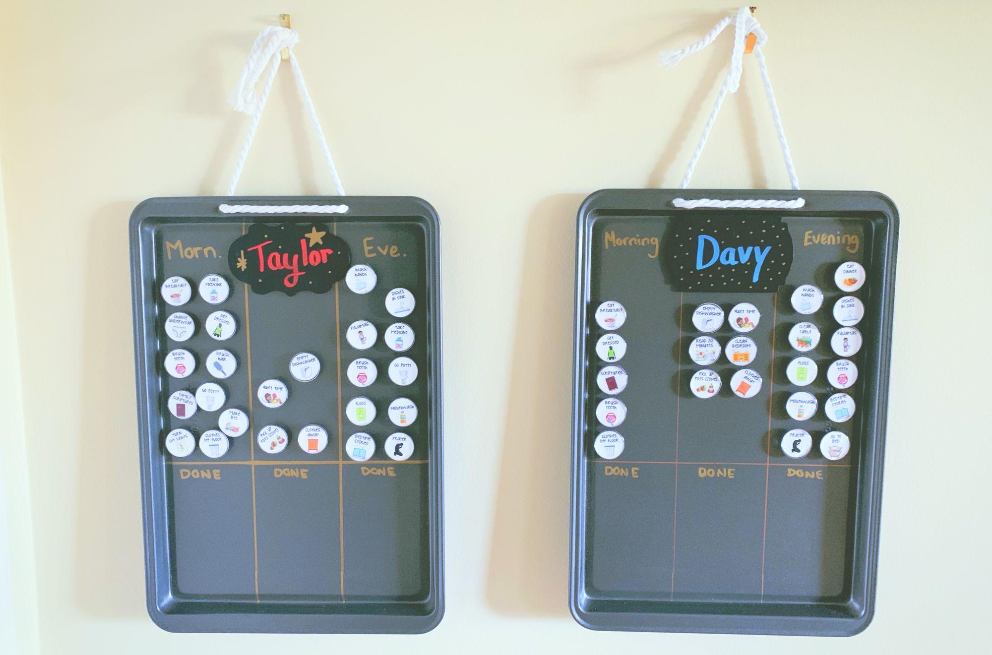 Chore Chart DIY